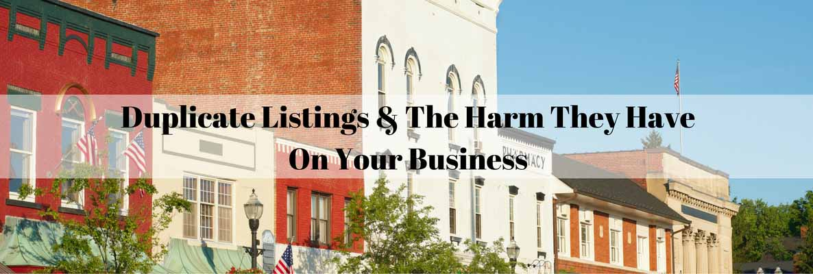 Duplicate Listings & The Harm It Has ON (1)