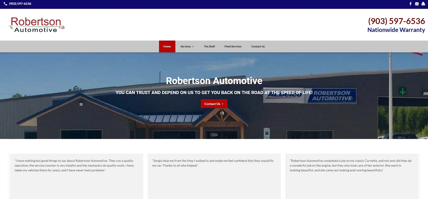robertson automotive