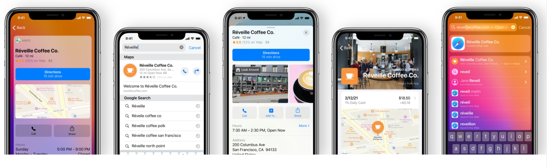 type of apple products on mobile claim apple maps listing